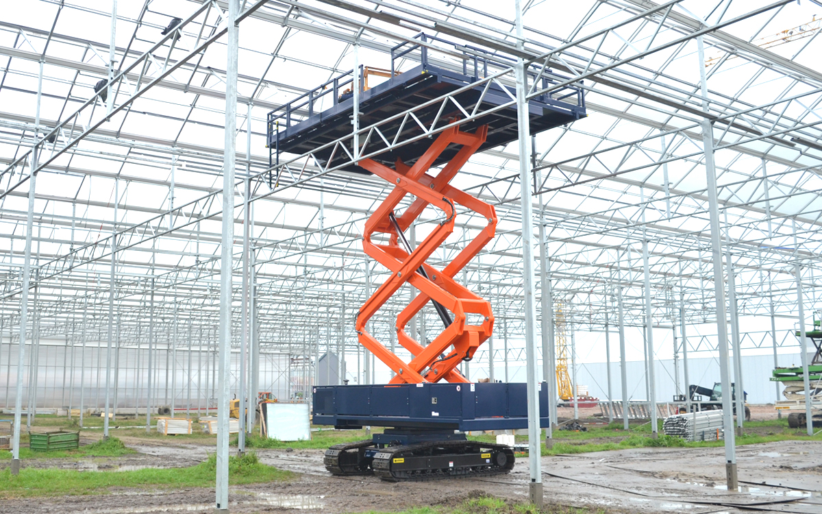 OMEGA 900TS - series - proven greenhouse constructions machine